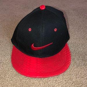 Black & red Nike hat